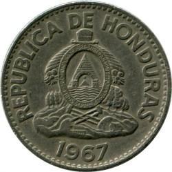 Кованица > 50центи, 1967 - Хондурас  - obverse