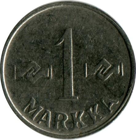 1 Mark 1953 1962 Finnland Münzen Wert Ucoinnet