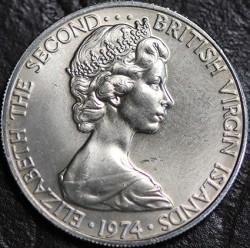 Moneta > 10centesimi, 1973-1984 - Isole Vergini Britanniche  - obverse