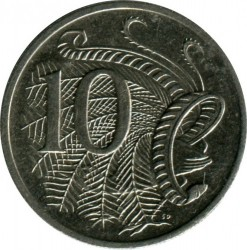 Coin > 10 cents, 1999 - Australia  - obverse