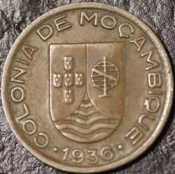 Монета > 10сентаво, 1936 - Мозамбик  - obverse