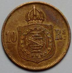 Mynt > 10reis, 1868-1870 - Brasilien  - reverse