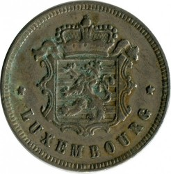 錢幣 > 25生丁, 1927 - 盧森堡  - reverse