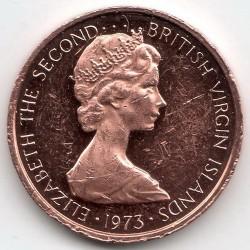 Minca > 1cent, 1973-1984 - Britské Panenské ostrovy  - obverse