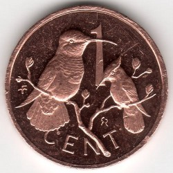 Minca > 1cent, 1973-1984 - Britské Panenské ostrovy  - reverse