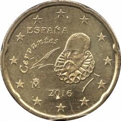 Монета > 20євроцентів, 2010-2019 - Іспанія  - obverse