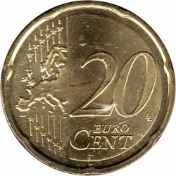Монета > 20євроцентів, 2010-2019 - Іспанія  - reverse