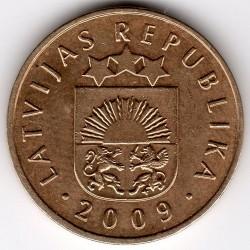 Moneta > 5santimi, 2009 - Lettonia  - obverse