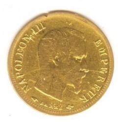 Moneta > 10franchi, 1855-1860 - Francia  (Diametro 19mm) - obverse