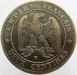 Moneta > 2centymy, 1853-1857 - Francja  - reverse