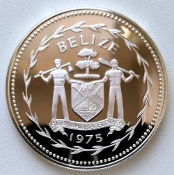Münze > 5Dollar, 1974-1981 - Belize  - reverse