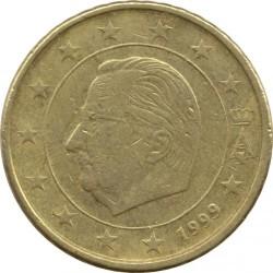 Monēta > 50centu, 1999-2006 - Beļģija  - obverse