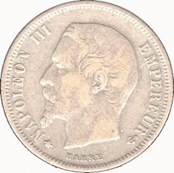 Moneta > 50centymów, 1853-1863 - Francja  - obverse
