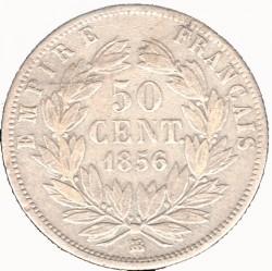 Moneta > 50centymów, 1853-1863 - Francja  - reverse