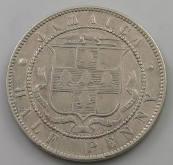 Moneda > ½ penique, 1869-1900 - Jamaica  - obverse