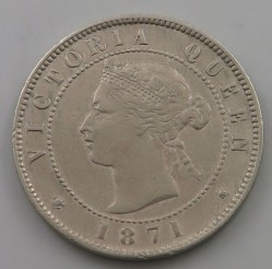 Moneda > ½ penique, 1869-1900 - Jamaica  - reverse