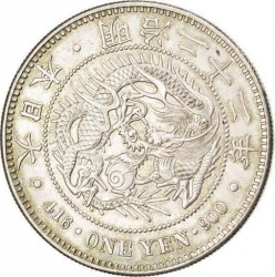 Münze > 1 Yen, 1874-1912 - Japan  - obverse