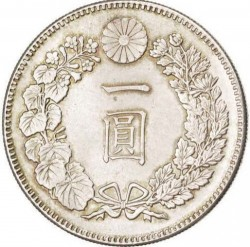 Münze > 1Yen, 1874-1912 - Japan  - reverse