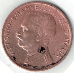 العملة > 1سنتيسيمو, 1908-1918 - إيطاليا  - reverse