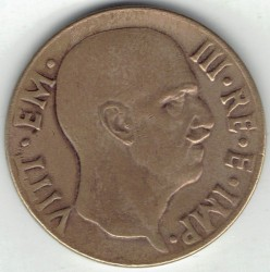 سکه > 5سنتسیمی, 1939-1943 - ایتالیا  - reverse
