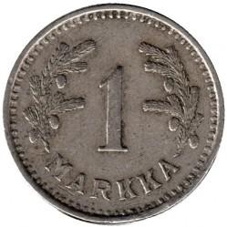 Münze > 1Mark, 1940 - Finnland  (Copper-Nickel /gray color/) - obverse
