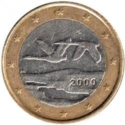 Pièce > 1euro, 1999-2006 - Finlande  - reverse