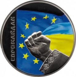 Moneta > 5grivinos, 2015 - Ukraina  (Euromaidan) - reverse