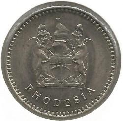 Кованица > 20центи, 1975-1977 - Родезија  - obverse