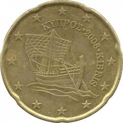 Münze > 20Cent, 2008-2016 - Zypern  - obverse