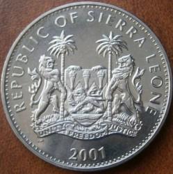 Moneta > 1dollaro, 2001 - Sierra Leone  (I grandi cinque - Leone) - obverse