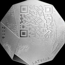 Moneta > 5euro, 2016 - Lettonia  (Imprenditore) - reverse