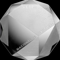Монета > 5евро, 2016 - Латвия  (Предприниматель) - reverse
