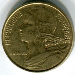 Coin > 10centimes, 1982 - France  - reverse