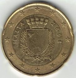 錢幣 > 20分, 2008-2017 - 馬爾他  - obverse