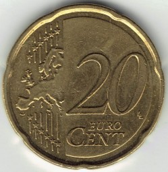 Monedă > 20eurocent, 2008-2018 - Malta  - obverse