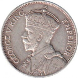 Coin > 1 shilling, 1932-1936 - Southern Rhodesia  - obverse