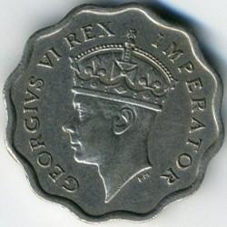Moneda > ½piastre, 1938 - Xipre  - obverse