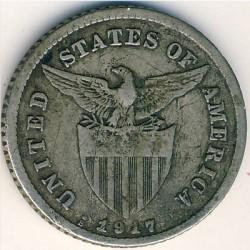 Pièce > 20centavos, 1907-1929 - Philippines  - reverse