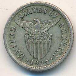 Монета > 10сентаво, 1907-1935 - Филиппины  - obverse