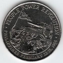 Moneda > 10pesos, 1988 - Filipinas  (Revolución Popular) - reverse