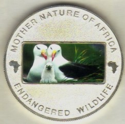 Monedă > 10kwacha, 2004 - Malawi  (Endangered Wildlife - Gulls) - obverse