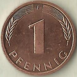 Münze > 1Pfennig, 1998 - Deutschland  - reverse