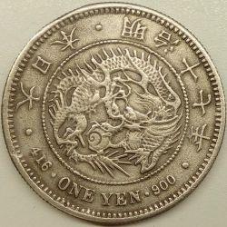 Coin > 1yen, 1874-1912 - Japan  - obverse