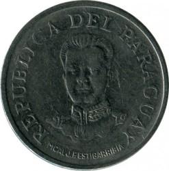 Монета > 50гуарани, 1975 - Парагвай  - obverse