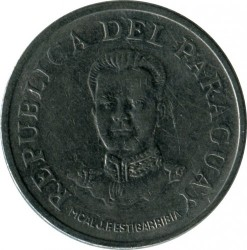 Монета > 50гуарани, 1975 - Парагвай  - reverse