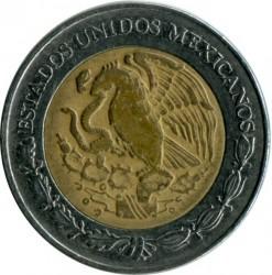 Moneta > 2pesos, 1996-2017 - Messico  - obverse