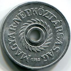Münze > 2Filler, 1950-1989 - Ungarn  - obverse