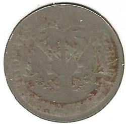 """Moneda > 5centimes, 1904 - Haití  (""""5"""" en l'anvers) - obverse"""
