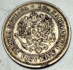 Moneta > 2markkaa, 1865-1908 - Finlandia  - obverse