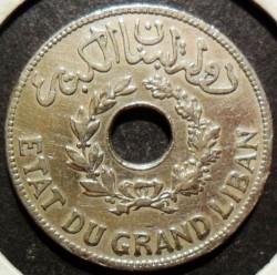 Moneta > 1piastra, 1925-1936 - Libano  - obverse